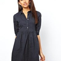 Motel Denim Shirt Dress at asos.com