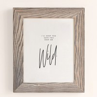 Honeymoon Hotel Keep Me Wild Art Print | Urban Outfitters