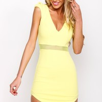 HelloMolly | Splendour Dress Lemon
