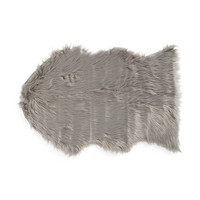 Faux Sheep Skin Area Rug - Living Room - T.J.Maxx