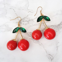 Cherry Dance Earrings