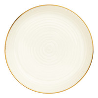 Textured Porcelain Plate - from H&M