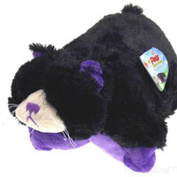 """Pillow Pets Pee Wees Curious Cat Seen On TV 2011 11"""" Stuffed Animal Plush Toy"""