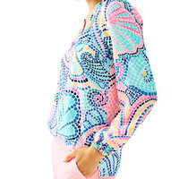 Elsa Top - Tile Wave | 41773999OG6 | Lilly Pulitzer
