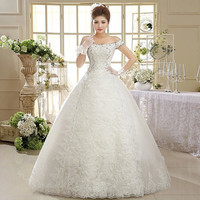 Wedding Dress White Princess Wedding Gown Fashion Sexy Wedding Dresses