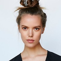 Free People Womens Arabesque Bun Holder