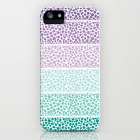 Riverside Colored Pebbles iPhone & iPod Case by Pom Graphic Design