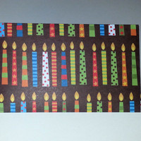 10 Gift Card/ Business Cards Envelope Trios - Birthday #4