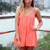 PRETTY POLLY PLAYSUIT , DRESSES, TOPS, BOTTOMS, JACKETS & JUMPERS, ACCESSORIES, 50% OFF SALE, PRE ORDER, NEW ARRIVALS, PLAYSUIT, COLOUR, GIFT VOUCHER,,Pink,SLEEVELESS Australia, Queensland, Brisbane