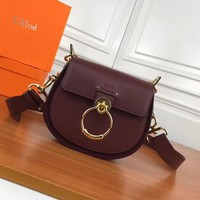 Ready Stock Chloe Women's Leather Inclined Shoulder Bag #2319