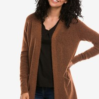 Open Cardigan Sweater