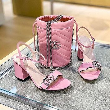 GG Fashion casual sandals Whoes
