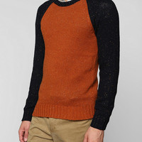O'Hanlon Mills Nep Colorblock Sweater  - Urban Outfitters