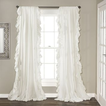 Leila Drapery Curtain Panel SET