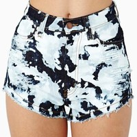 Bleached Out Cutoff Shorts