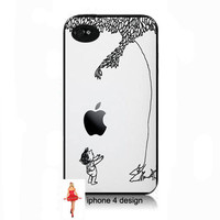 Apple Tree iphone 4  cell phone case, Iphone case, Iphone 4s case, Iphone 4 cover, i phone case, i phone 4s case