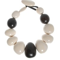 Monies Ebony and Horn necklace