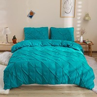 3PCS Bedding Set Luxury Super Soft Duvet And Pillowcases Comforter Bedding Sets Queen King Size Bed Cover Set