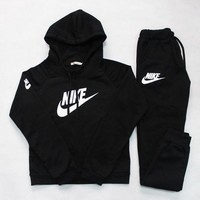 DCKKID4 Nike' Casual Hoodie Sweater Pants Trousers Set Two-Piece