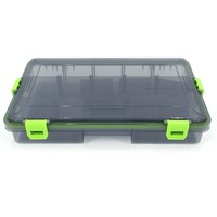 Transparent Black Green Lure Fishing Gear Fishing Tackle Boxes Fishing Bags Storage Box with Small Partitions