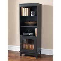 Mainstays Media Storage Bookcase, Multiple Finishes - Walmart.com