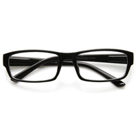 Modern RX Optical Rectangle Clear Lens Glasses 9342