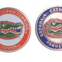 Florida Gators Double Sided Golf Ball Marker