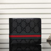 ONETOW Day-First? Boys & Men Gucci Leather Print Purse Wallet