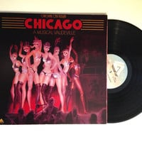 LP Album Chicago A Musical Vaudeville Vinyl Record Original Cast 1975 All That Jazz