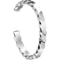 Handcrafted Wave Sterling Silver Toe Ring | Body Candy Body Jewelry