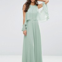 ASOS | ASOS Extreme Cold Shoulder Maxi Dress at ASOS