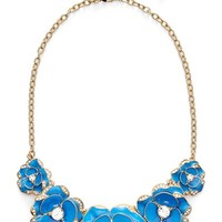 Women's kate spade new york 'beach house bouquet' frontal necklace