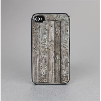 The Wooden Wall-Panel Skin-Sert Case for the Apple iPhone 4-4s