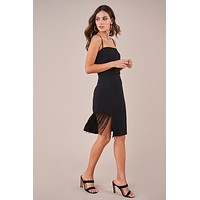 Beatrice Fringe Midi Dress