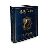 Harry Potter Page to Screen: The Complete Filmmaking Journey Hardcover Book |