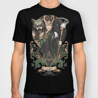 House of Loki: Sons of Mischief T-shirt by Medusa Dollmaker