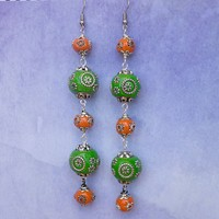 Mini Lantern Earrings