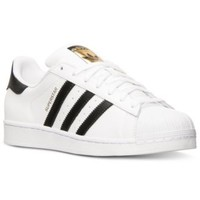 adidas Boys' Superstar Casual Sneakers from Finish Line | macys.com