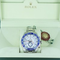 GENTS ROLEX YACHT MASTER 11 OYSTER PERPETUAL 116680 STAINLESS STEEL 990060326