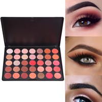 Matte Eye Shadow 35 Colors Make Up Set Nudes Naked Pallete Eyeshadow Palette Brighten Shimmer #622