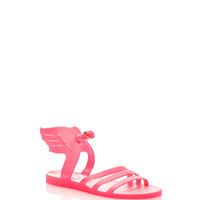 Ikaria Winged Neon Rubber Sandals