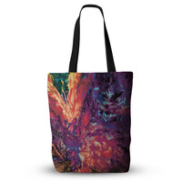 """Mary Bateman """"Passion Flowers II"""" Everything Tote Bag"""