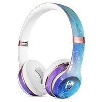 Splattered Ocean 4823 Absorbed Watercolor Texture Full-Body Skin Kit for the Beats by Dre Solo 3 Wireless Headphones
