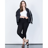 Plus Size Daily Comfy Leggings