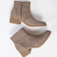 Western Pointy Toe Booties