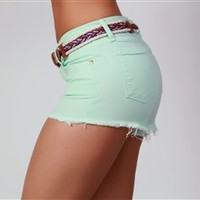 Thin Mint Cut Off Shorts