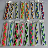 Wholesale - New arrival Braided non slip sports headband anti-glissement grip headbands keep your eyes on the prize