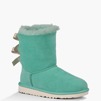 Ugg Bailey Bow Girls Boots Surf Spray  In Sizes