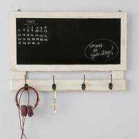 Chalkboard Message Shelf