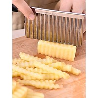 1pc Stainless Steel Potato Cutter